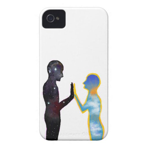 Night & Day iPhone 4 Case-Mate Cases