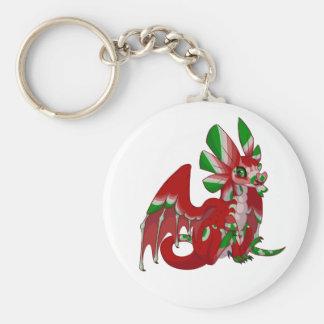 Night Dragon Key Ring