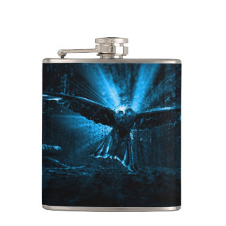 Night Eagle Hip Flask