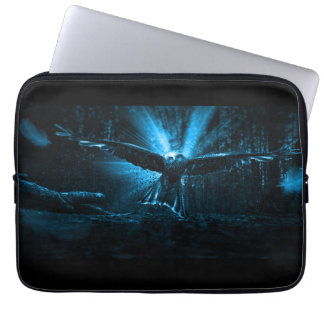 Night Eagle Laptop Sleeve