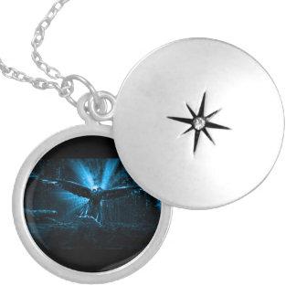 Night Eagle Locket Necklace