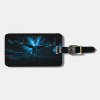 Night Eagle Luggage Tag