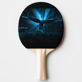 Night Eagle Ping Pong Paddle