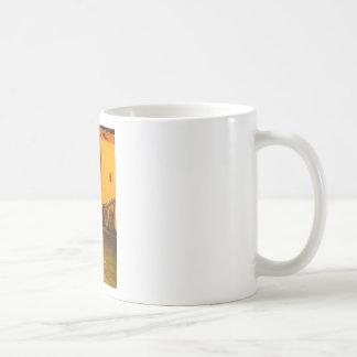 Night empty street coffee mug