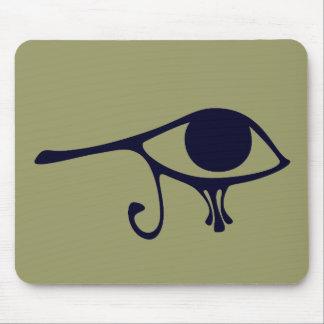 Night Eye of Horus Mouse Pad