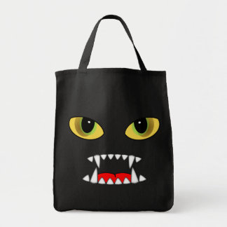 Night Fangs Grocery Tote Bag