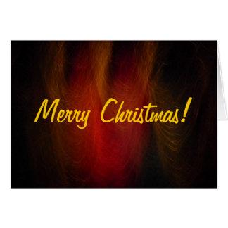 Night Flair Christmas Card2 Greeting Card