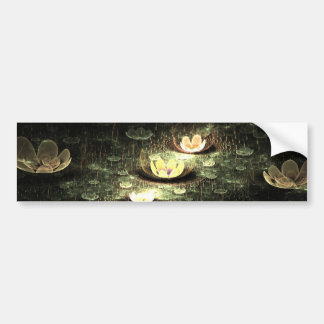 Night Flowers Bumper Sticker