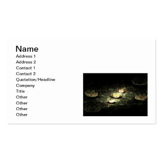 Night Flowers Pack Of Standard Business Cards