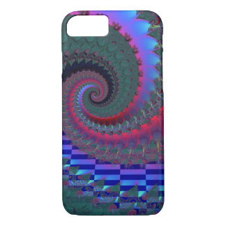 Night Fractal iPhone 7 Case