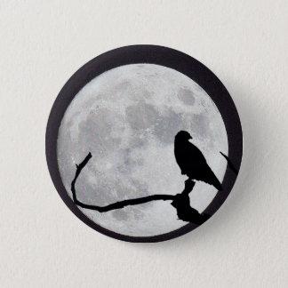 Night Hawk 6 Cm Round Badge