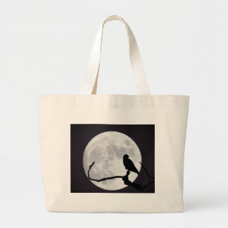 Night Hawk Large Tote Bag