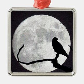 Night Hawk Metal Ornament