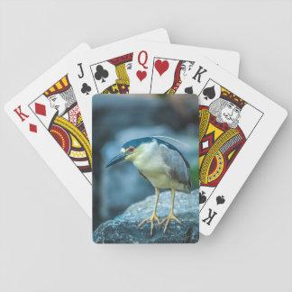 Night Heron Playing Cards