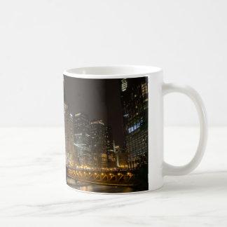 Night in Chicago Coffee Mug