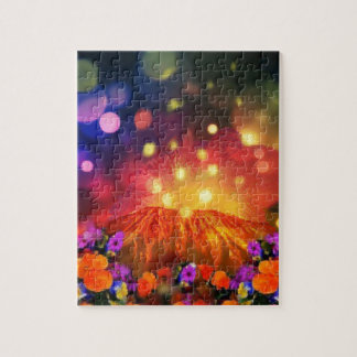 Night is full of color enjoying life jigsaw puzzle