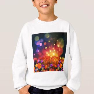Night is full of color enjoying life sweatshirt