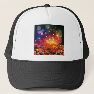 Night is full of color enjoying life trucker hat