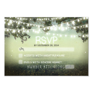 night lanterns romantic wedding rsvp personalized invites