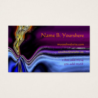 Night Lightning Business Card