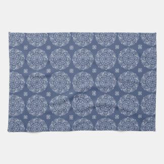 Night Mandala Tea Towel