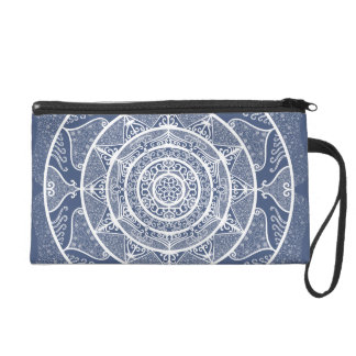 Night Mandala Wristlet