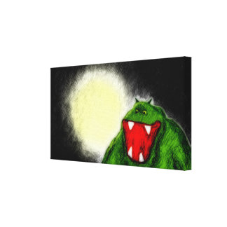 Night Monster Gallery Wrap Canvas