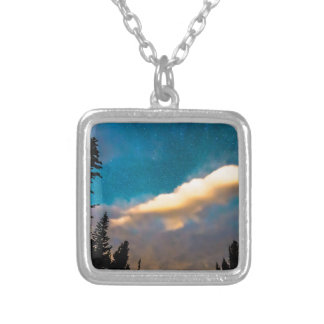 Night Moves Silver Plated Necklace
