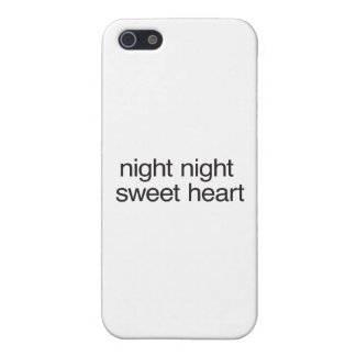 night night sweet heart case for iPhone 5/5S