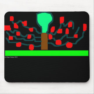 Night of Apples Mouse Pad