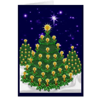 Night of Light Christmas Card Bl