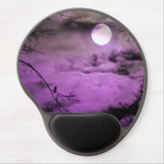 Night Of Purple Gel Mouse Pad