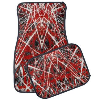 NIGHT OF  THE BAT ss (abstract art) ~ Floor Mat