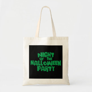 Night of the Halloween Party Canvas Bags