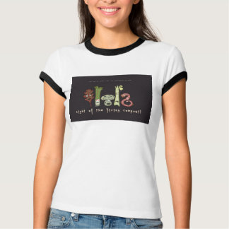 night of the living compost! on your shirt! T-Shirt