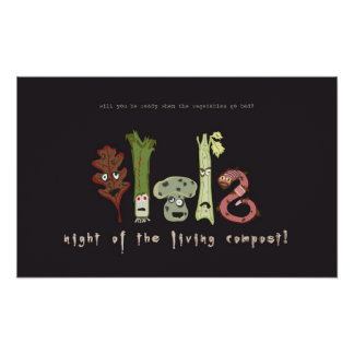 night of the living compost! poster