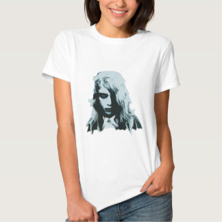 Night of the living zombie girl shirt