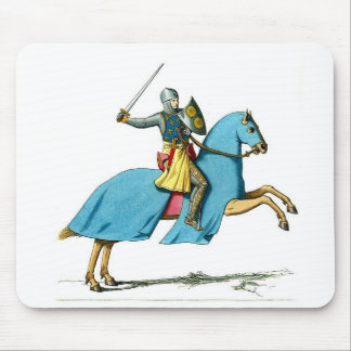 night on a horse mouse pad