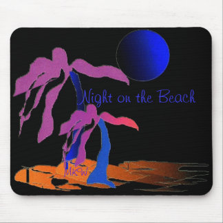 Night on the Beach Mouse Pad