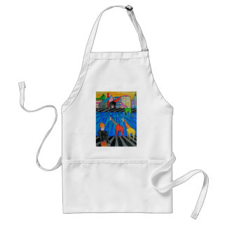 Night out in the Toon Standard Apron