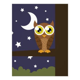 """Night Owl"" 21.5 Cm X 28 Cm Flyer"