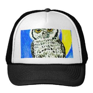 Night Owl Art Cap