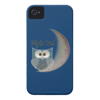 Night Owl Art Electronic Case Case-Mate iPhone 4 Cases