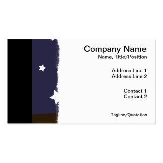"""Night Owl"" Business Card Template"