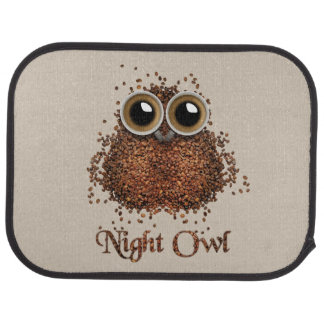 Night Owl Car Mat
