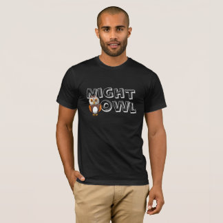 Night Owl Dad Matching T-shirt