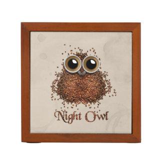 Night Owl Desk Organiser