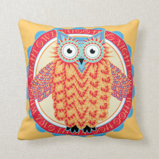 Night Owl - For Those Who Just Never Sleep Cushion