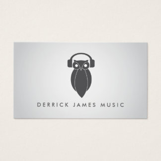 NIGHT OWL in GRAY Business Card