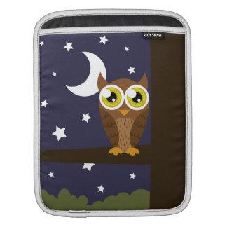 """""""Night Owl"""" iPad Sleeve"""